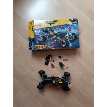 Lego batmobil friends city