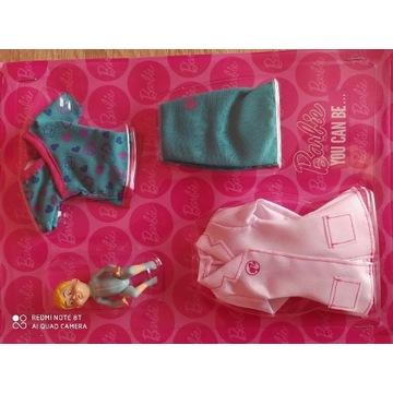 Zestaw nowych ubranek dla Barbie