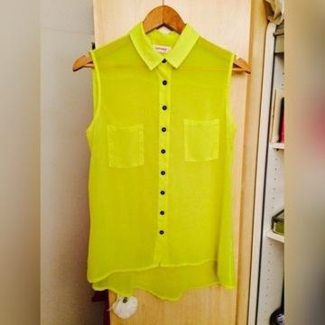Koszula mgiełka neon Orsay oversize