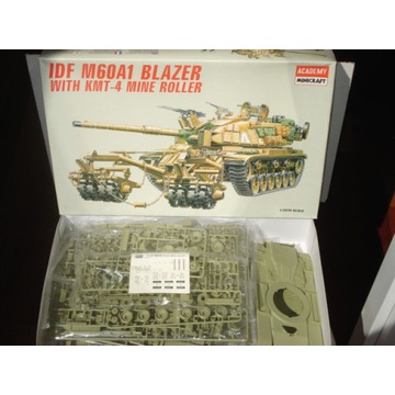 Academy 1/35 M60A1 Patton with KMT-4 Mine Roller