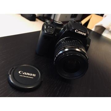 Canon EOS 400d z obiektywem 35-80 mm bdb