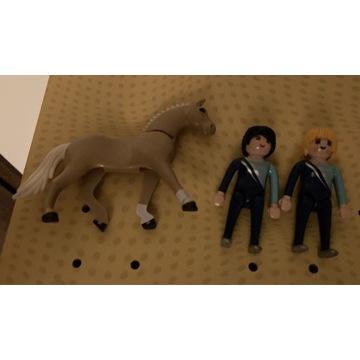 Playmobil woltyżerka z jednym koniem