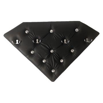 Wieszak, panel tapicerowany diament GLAMOUR 70cm