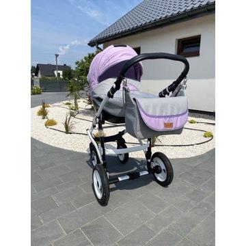 Wózek dziecięcy 3 w 1 firmy Maked
