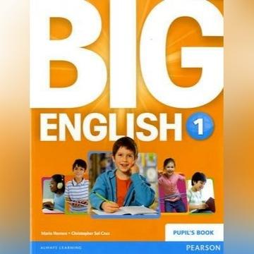 Big English 1 podręcznik - Pearson