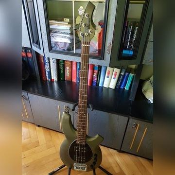 Music Man Bongo+oryg. Hardcase i straplocki+pasek