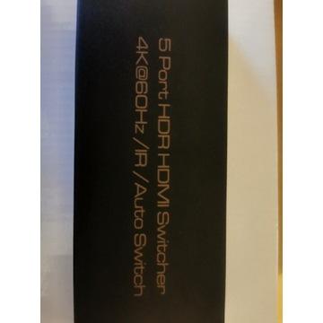 Switch HDMI 4K 5W1