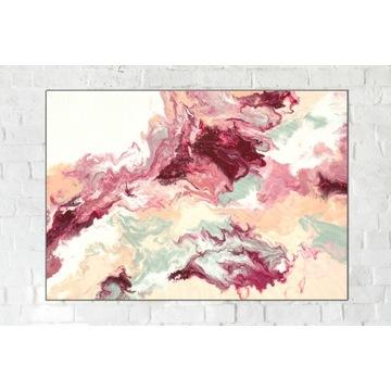 Oryginalny Obraz Abstrakcja na płótnie 100 x 70 cm