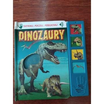 Dinozaury DOTKNIJ, POCZUJ, POSŁUCHAJ