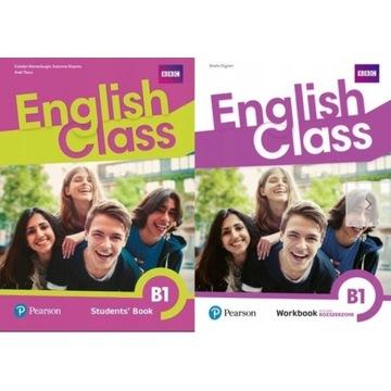 ENGLISH CLASS B1 KSIAZKA NAUCZYCIELA + PODR + CW