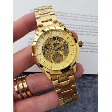 Zegarek Rolex Swiss Made Złoty 42mm