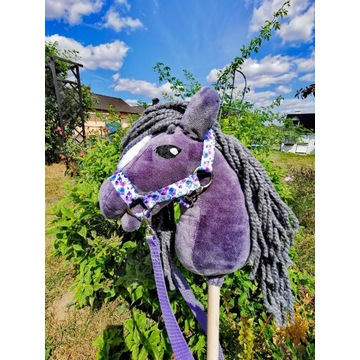 Koń Hobby Horse na kijku + zestaw - GRINGO