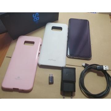 Samsung S8+ plus 2x etui
