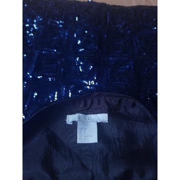 H&M spódnica w cekiny rozm.38