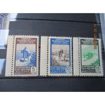 stare znaczki MARRUECOS MARAKESZ 1949