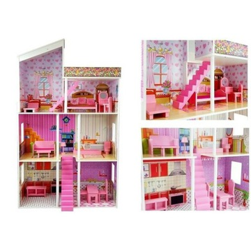Domek dla lalek drewniany Villa Klaudia