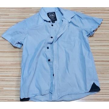 Koszula krótki rękaw SMYK r. 128