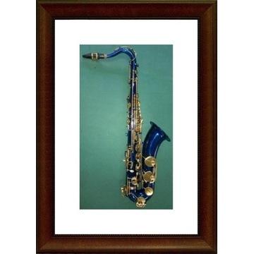 Saksofon tenorowy NEW ORLEANS niebieski M202