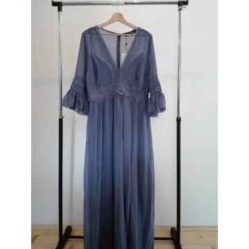 Little Mistress sukienka niebieska 42 promocja
