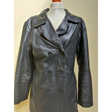 Płaszcz prochowiec CANDA skóra naturalna 42/XL