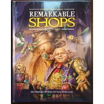 Remarkable Shops & Their Wares dodatek rpg nowy