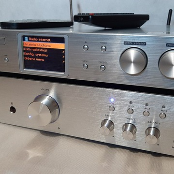 Auna  iTuner CD odbiornik hi-fi BT DAB+ WiFi LAN !