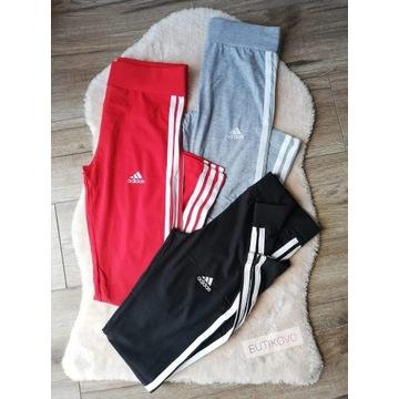 WYPRZEDAŻ Spodnie Leginsy Damskie Adidas