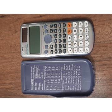 Kalkulator naukowy CASIO + instrukcja