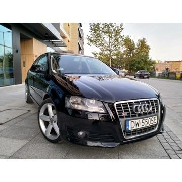 Audi A3, 2.0 tdi, 150 tyś km, oryginalny przebieg
