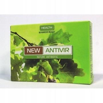 New Antivir naturalny antybiotyk na wirusy 60 kap