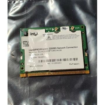 Karta sieciowa WiFi Intel PRO 2200BG SPRAWNA