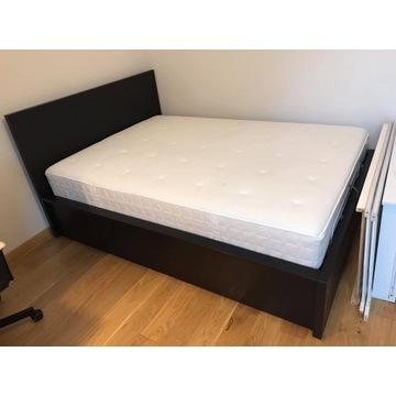 Łóżko Malm z pojemnikiem+ materac Hyllestad