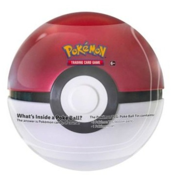 Pokemon Pokeball puszka z kartami 2020