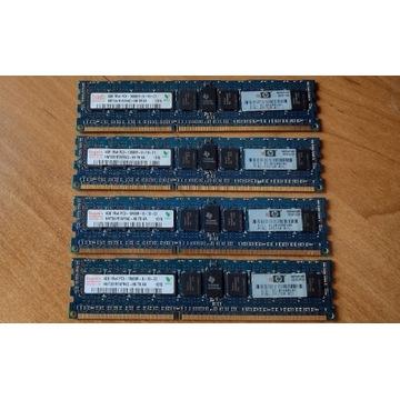 HYNIX 16GB 4x4GB 1Rx4 PC3-10600R HP do serwera