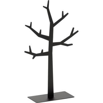 Wieszak na Biżuterię Drzewko Stojak Czarny