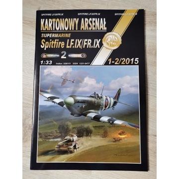 Spitfire LF.IX/FR.IX Kartonowy Arsenał 1/33