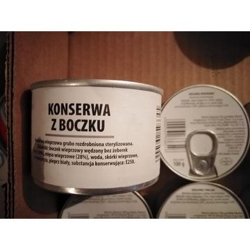Wojskowa konserwa z boczku 190 g