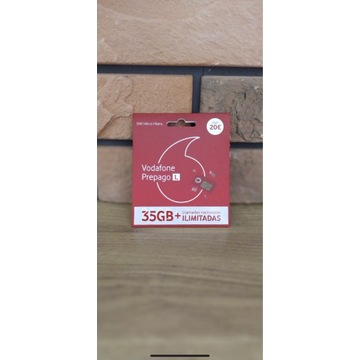 Starter Vodafone hiszpańska SIM