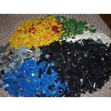 KLOCKI Lego mix na kg - mieszane 39 kg