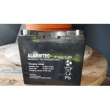 AKUMULATOR AGM ALARMTEC BP18-12 (12V 18AH)
