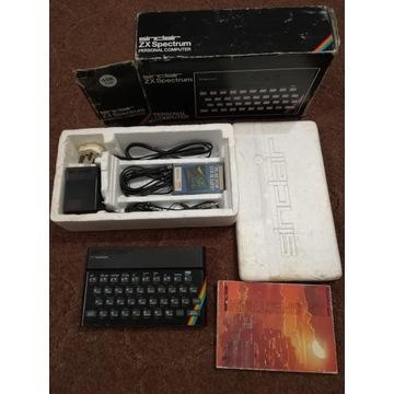 """Sinclair ZX Spectrum 48kB tzw. """"Gumiak"""" w pudełku"""