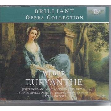 WEBER Euryanthe J.NORMAN, GEDDA 3CD