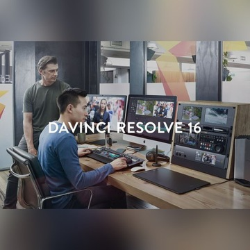 Blackmagic Davinci Resolve Studio 16 Klucz Key