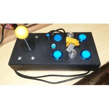 Atari joystick arkadowy 3 fajery + wiosełka padlle