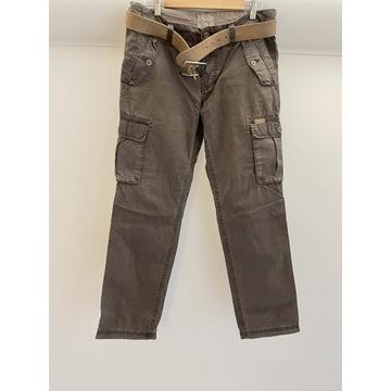 Spodnie bojówki ESPRIT nowe+ pasek gratis