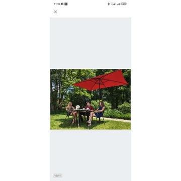 Parasol XXL 200x300cm NOWY ogrodowy