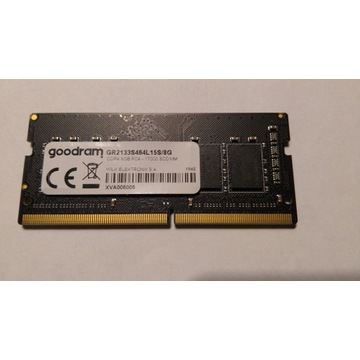 Pamięć RAM do laptopa GOODRAM DDR4 8GB 2133MHz