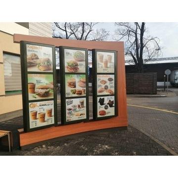 Reklamy Podświetlane McDonald's