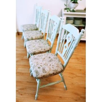 Komplet krzeseł po renowacji