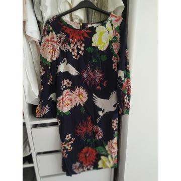 Sukienka KappAhl we wzory - rozmiar 36. Stan bdb.